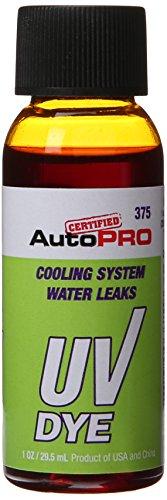 InterDynamics Certified AC Pro Car Air Conditioner Leak Detector Dye, UV Dye for Cars and Radiator, 1 Oz, 375CS