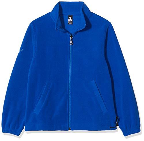 Trigema Jungen 355104 Jacke, Blau (Royal 049), (Herstellergröße: 116)
