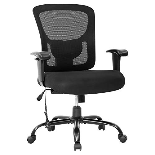 Big and Tall Office Chair 400lbs Desk Chair Mesh Computer Chair