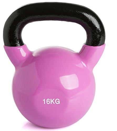 K-WELL Kettlebell Vinile 16 kg