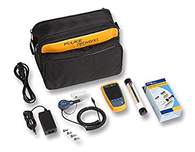 Fluke Networks FI-500 FiberInspector Micro-Fiber Optic Endface Inspection Scope Camera with PortBright Illumination