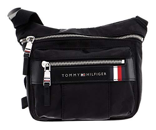 Tommy Hilfiger Elevated Nylon Camo Mini Camera Bag Black Camo