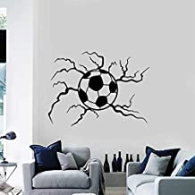 NSRJDSYT Pegatina de Pared de fútbol, Pegatina de Vinilo para balón de fútbol, Pegatinas de Juego Deportivo, decoració...