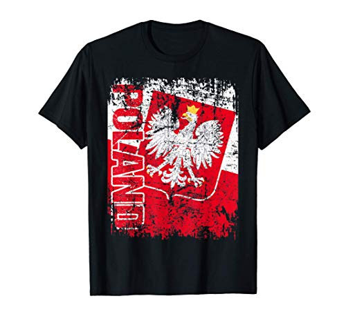 POLEN Flagge | Damen Herren Kinder Geschenk POLSKA POLEN T-Shirt