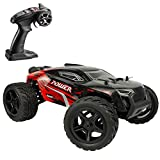 🎅【Extremely High Speed】 --- 1:14 scale big size rc cars for adults and boys, the max speed can reach up to 36km/h, which is high speed running, full proportional super-fast RC monster truck are special designed for tough environments and any rugged r...