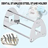 Healifty portapenne per strumenti dentali, supporto per scaffale ortodontico per pinza per artigianato Organizer Forbici Forcipe Strumento in acciaio inossidabile per arredamento da laboratorio clin