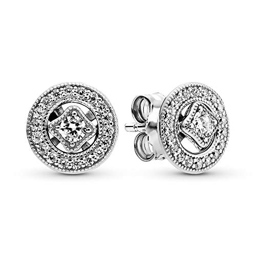 Pandora Women's Vintage Magic Stud Earrings 290721CZ