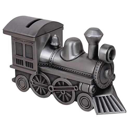 Huchas Hogar y Cocina Huchas Niños Retro Hucha Tren Metal Hucha Moneda Hucha Decoración Regalo Huchas Decoración del Hogar Huchas