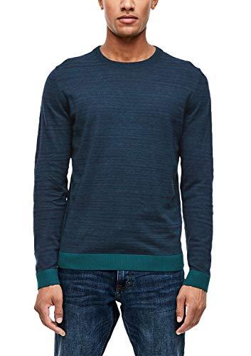 s.Oliver Herren 13.909.61.6204 Pullover, Blau (Petrol Essence 67w0), (Herstellergröße: XX-Large)