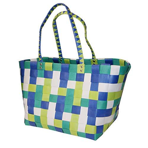 Cesta de picnic de plástico tejida a mano para comprar cesta de pícnic para coleccionar cestas de baño de baño cesta sucia ropa cesta grande