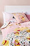 Winnie The Pooh Double Duvet Cover Set with Pillow Cases 200cm X 200cm Primark