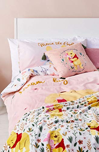 Winnie The Pooh - Juego de funda de edredón y funda de almohada, diseño de Winnie the Pooh