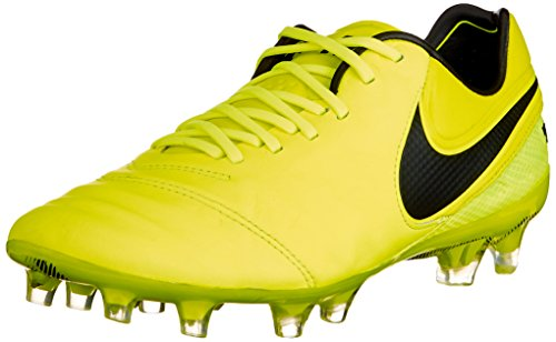 Nike Herren Tiempo Legend Vi Fg Fußballschuhe, Gelb (Volt/black Volt), 40.5 EU