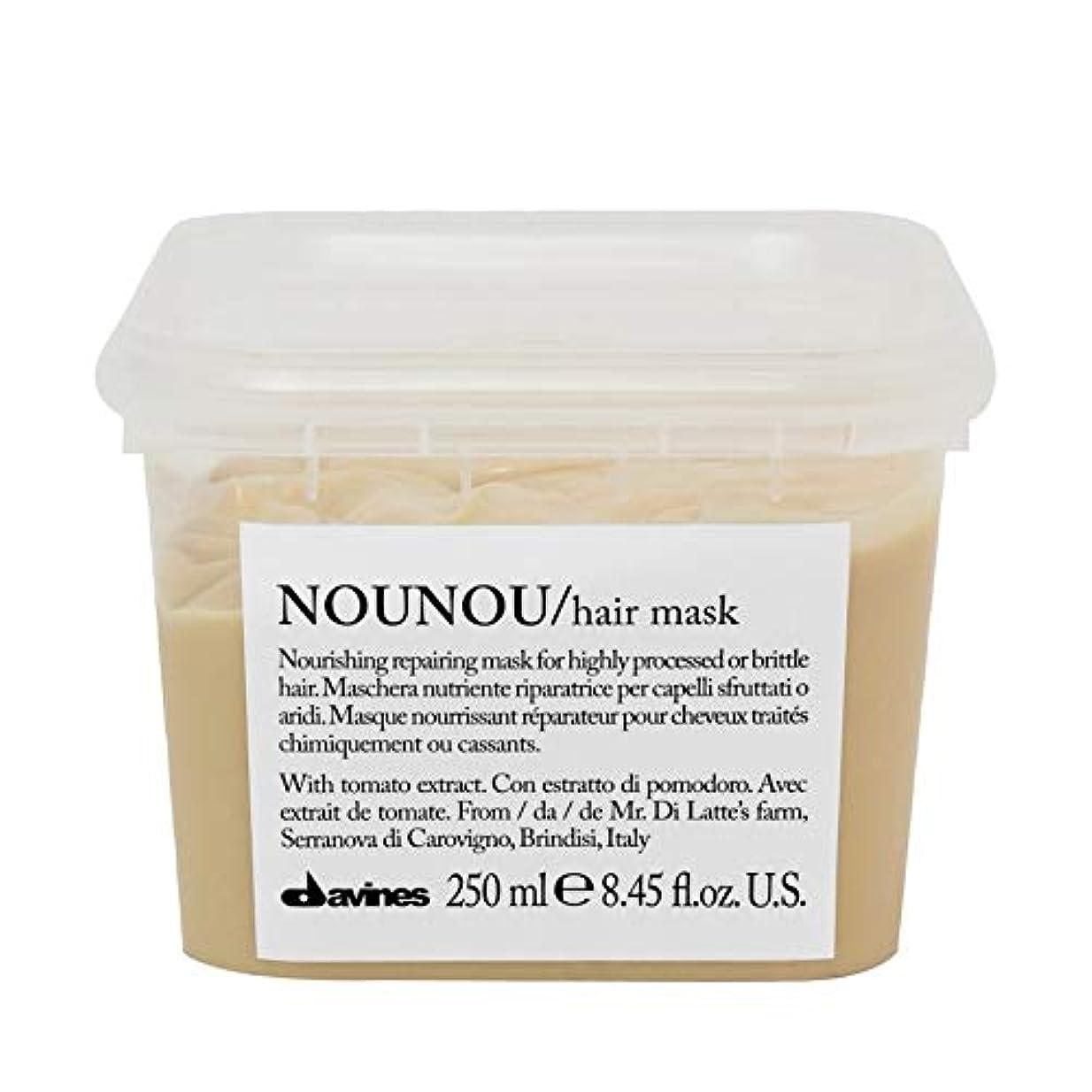 考慮ウォルターカニンガム首[Davines ] ヘアマスク250ミリリットルノウノウダヴィネス - Davines Nounou Hair Mask 250ml [並行輸入品]