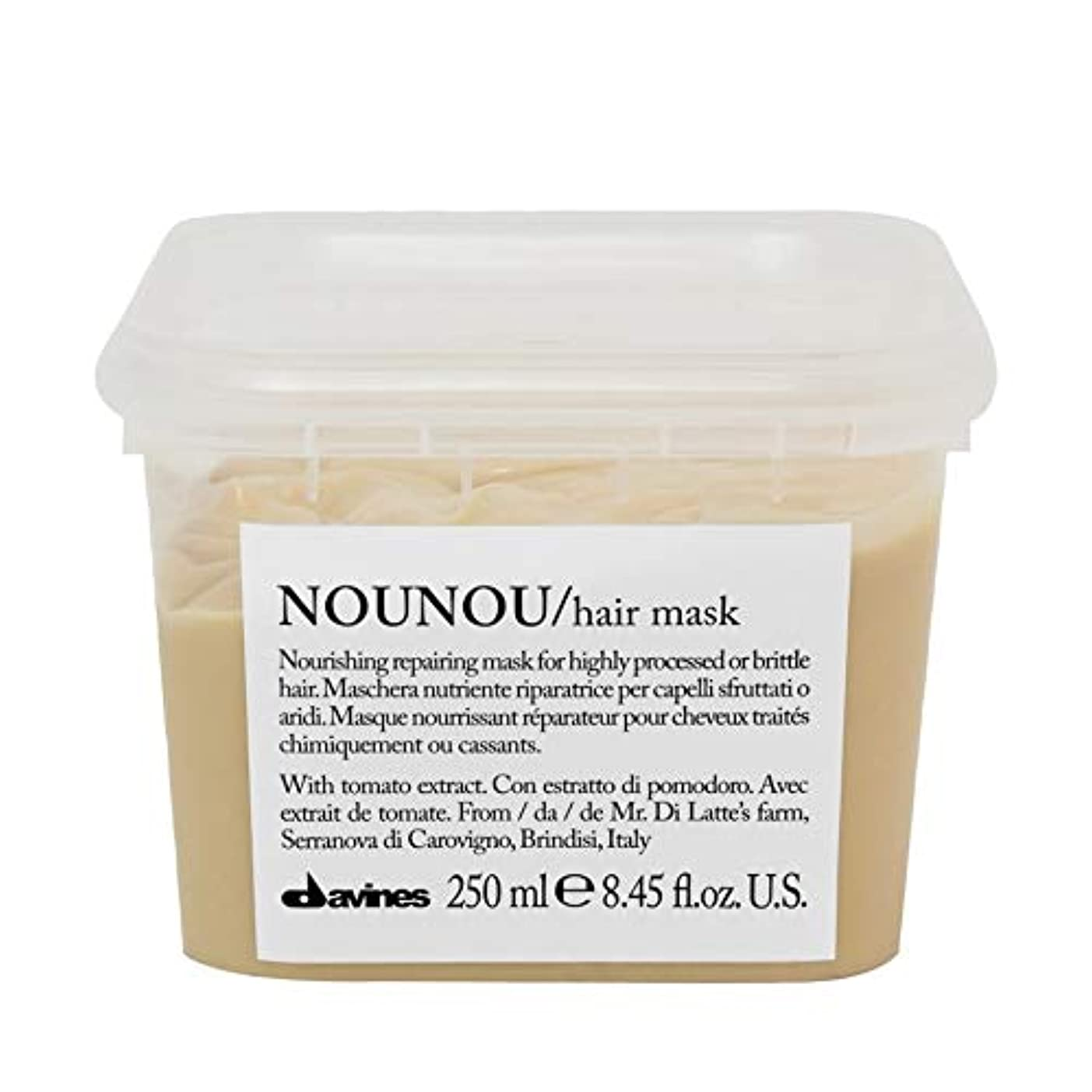 バーガーノイズ八百屋[Davines ] ヘアマスク250ミリリットルノウノウダヴィネス - Davines Nounou Hair Mask 250ml [並行輸入品]
