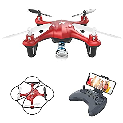 ATOYX Drone for Kids with Camera,WiFi FPV HD Camera Drone,Gravity Sensing ,3D Flips, Headless Mode,One Key Take Off/Landing,Altitude Hold, Suitable for Beginners/Kids