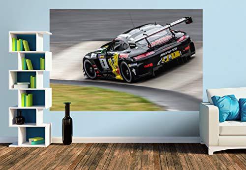 Premium Foto-Tapete Haribo Racing Team - Mercedes-AMG GT3 (versch. Größen) (Size M   279 x 186 cm) Design-Tapete, Wand-Tapete, Wand-Dekoration, Photo-Tapete, Markenqualität von ERFURT
