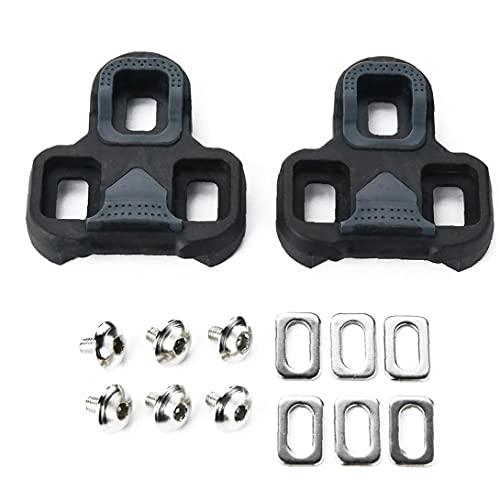Pendientes de bicicletas Pedales de ciclismo Pendientes Conjunto de férula de pedal de autocierro Compatible con calados de keo para buenas montar