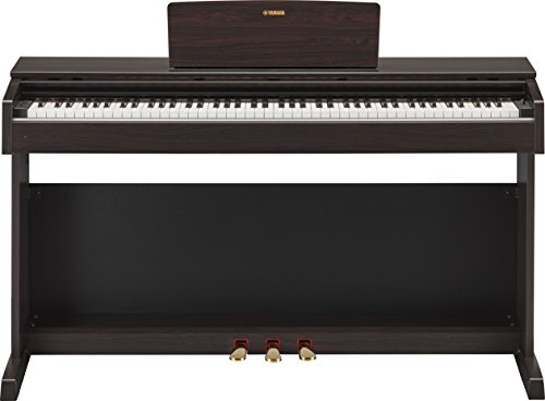 Yamaha Arius YDP-143R - Piano digital, color marrón (Rosewood)