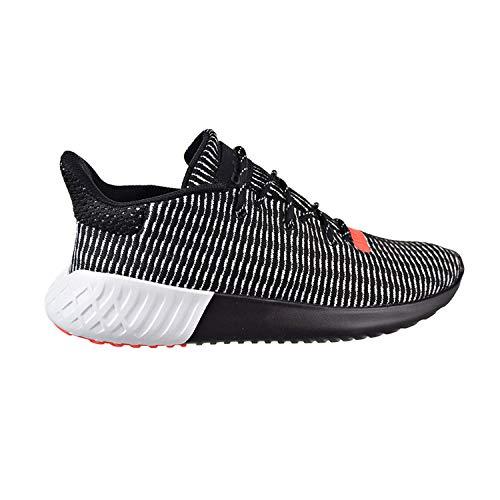 adidas Tubular Dusk Primeknit Men's Shoes Core Black/Cloud White/Solar Red aq1185 (10.5 D(M) US)