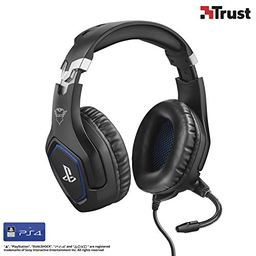 professionnel comparateur Casque Trust Gaming GXT 488 FORZE-B PS4 (avec microphone pour Playstation 4, Slim, Pro)… choix