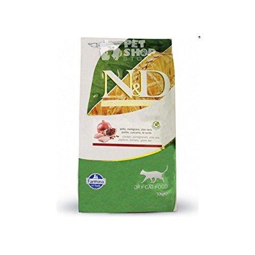 Farmina N&D Katze Getreidefrei Huhn & Granatapfel Trockenfutter Bitte auswählen: 10 kg
