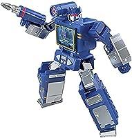 Transformers Generations War for Cybertron: Kingdom - Figura WFC-K21 Soundwave Clase núcleo