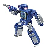 Transformers Toys Generations War for Cybertron: Kingdom Core Class WFC-K21 Soundwave Action Figure - Kids Ages 8 and Up, 3.5-inch
