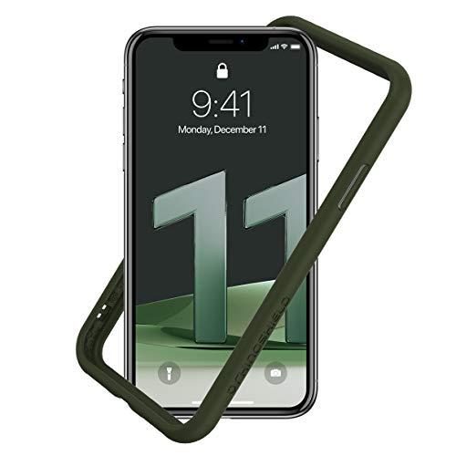 RhinoShield Bumper Case kompatibel mit [iPhone 11 / iPhone XR] | CrashGuard NX - Schockabsorbierende Dünne Schutzhülle 3.5 Meter Fallschutz - Schwarz