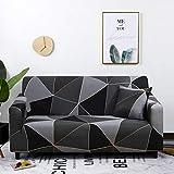Funda elástica de celosía para sofá de sala de estar, sofá, silla, funda elástica para sofá, decoración de sala de estar, sofá A24, 2 plazas