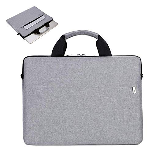 SEENPLIFE 15.6 Inch Laptop Sleeve, Multifunctional Business Briefcase with Padded Handle, Compatible with 15.6 Inch Laptops, Apple, Acer Aspire, HP Envy 15 and Dell XPS 15