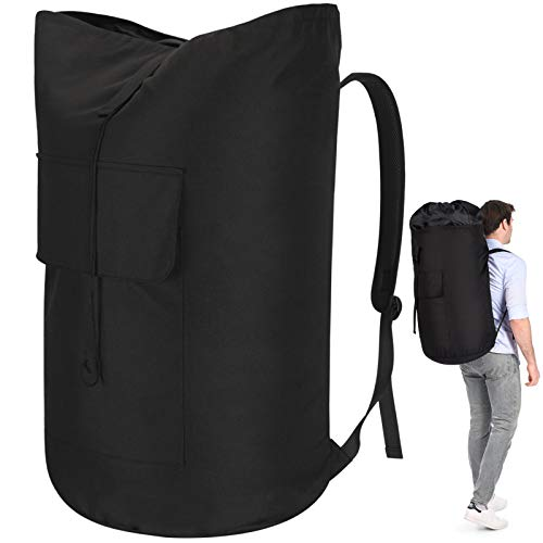 Backpack Laundry Bag, 115L Laundry Bag Heavy Duty Extra Large, Sturdy Laundry Backpack, Portable Laundry Bag with Straps, Durable Laundry Bag Backpack for College Dorm, Apartment, Laundromat, Students