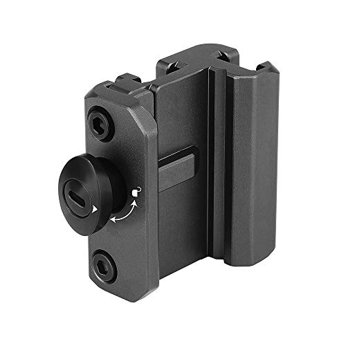 OLIGHT Pic Adapter Picatinny Rail Adapter Fit for Odin Mini and Odin Tactical Light, Pic Slide Rail Mount
