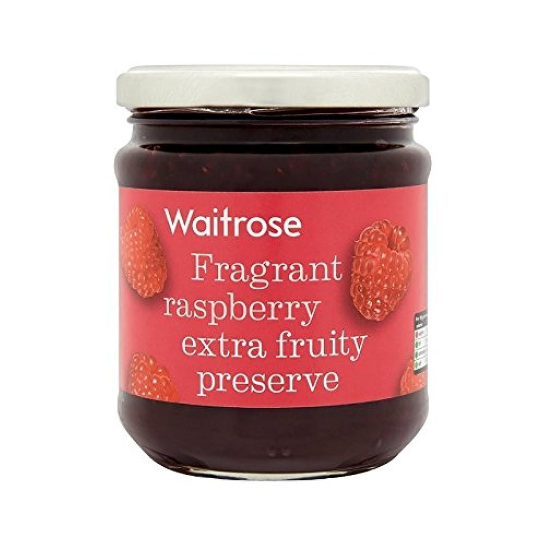 ラズベリーの節約の340グラム (Waitrose) (x 2) - Raspberry Conserve Waitrose 340g (Pack of 2)
