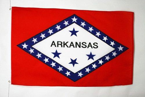 AZ FLAG Drapeau Arkansas 150x90cm - Drapeau Etat américain - USA - Etats-Unis 90 x 150 cm - Drapeaux