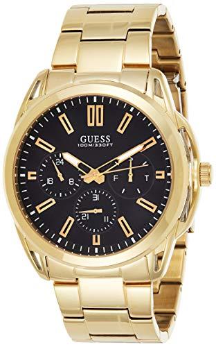 GUESS Reloj Analógico para Hombre de Cuarzo con Correa en Acero Inoxidable W1176G3