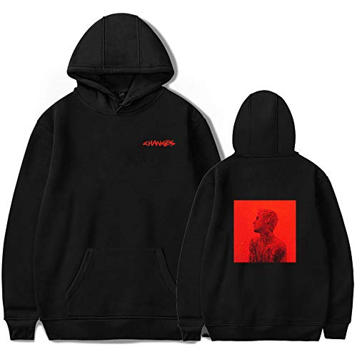 WAWNI Justin Bieber Hip Hop 2D New Hoodie Sweatshirts Herren Damen Print Pullover Unisex Harajuku Tracksui Gr. XS , 7