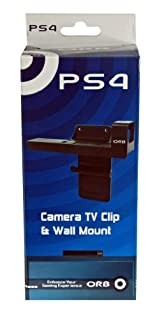ORB Camera TV Clip and Wall Mount for Playstation 4 PS4 (B00GH7U75S) | Amazon price tracker / tracking, Amazon price history charts, Amazon price watches, Amazon price drop alerts