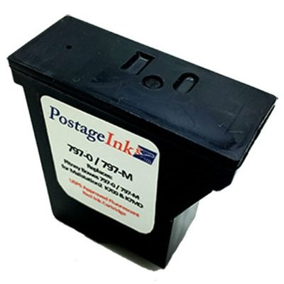 Pitney Bowes 797-0 Red Ink Cartridge for K700, Mailstation and Mailstation 2 Postage Meters
