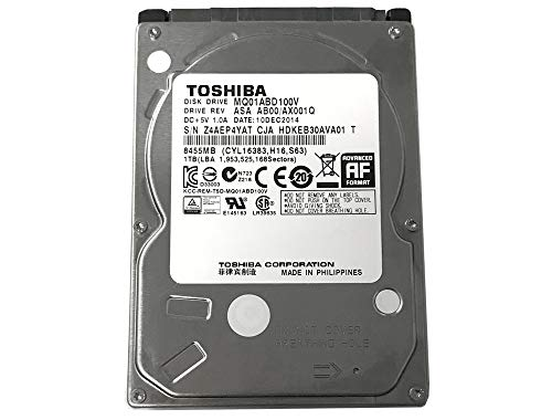 Toshiba 1TB 5400RPM 8MB Cache SATA 3.0Gb s 2.5 inch PS3 PS4 Hard Drive - 3 Year Warranty
