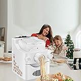 TTLIFE Máquina para hacer pasta eléctrica y fideos ramen H