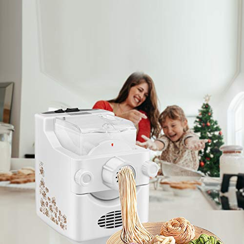 TTLIFE Máquina para Hacer Pasta eléctrica y Fideos Ramen Haga 1 Libra...