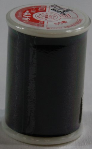 タイア絹ミシン糸  50番 100m  黒