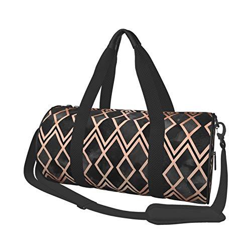 Sporttasche, leicht, tragbar, aus Segeltuch, Schultertasche, Wandkunst, Abalone-Holz, Zielscheibe, Pink, große Kapazität, Sport, Reise, Multifunktionstasche, Fitnesstasche