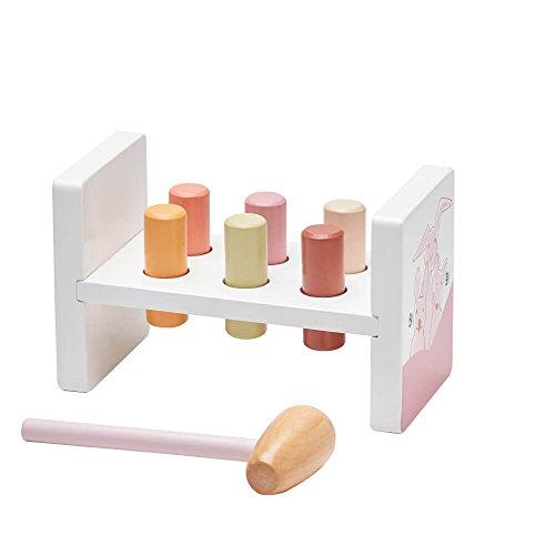 Kids Concept bébés et première infanciabancos avec martillokids concepthammer Bench edvin Pink, Multi - 1 - version espagnole