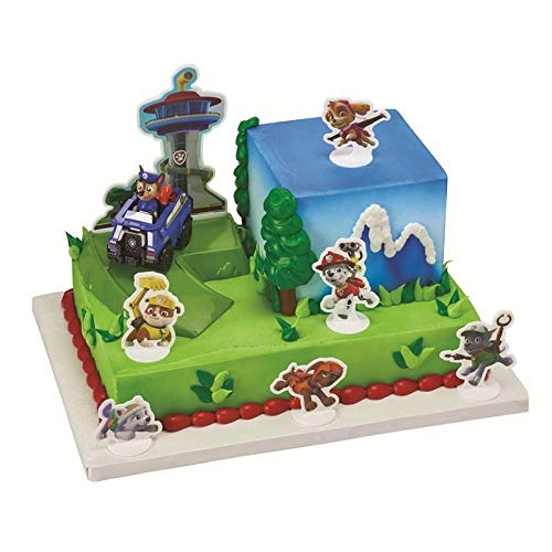A1BakerySupplies PAW Patrol Chase to the Rescue Cake Decorating Set