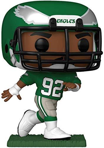 Funko 51742 POP NFL: Legends-Reggie White (Eagles) Retired Players Sammelbares Spielzeug, Mehrfarben