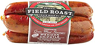 Field Roast Mexican Chipotle Vegetarian Sausage, 12.95 oz (1 Pack, 4 links total)