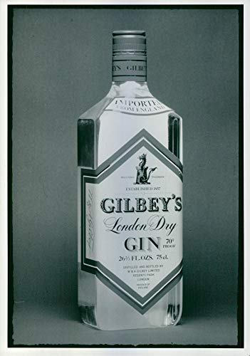 GILBEY'S Lenden Dry Gin – Vintage Press Foto