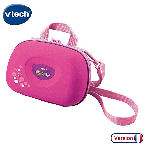 VTech Kidizoom Camera Case | Portable Hard Case for Children | Accessories for Kids Digital Camera Suitable from 3, 4, 5+ Year Olds, Pink